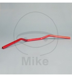 GUIDON SUPERBIKE  MCL101R  ALU ROUGE 22MM