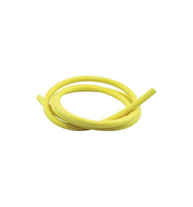 HT SILICONE 7MM YELLOW 1 METRE