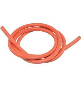 HT SILICONE 7MM RED 1 METER